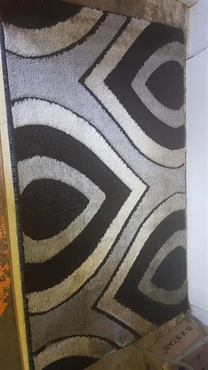 Black and grey carpet for sale