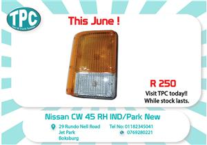 Nissan CW45 RH IND/Park D round New for Sale at TPC