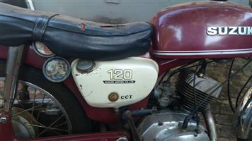 1973 Suzuki C50