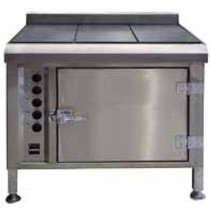 Flat Top Griller With Electric Oven