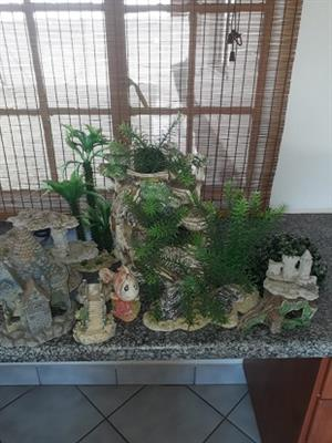 Fish pond and Fish tank items