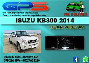 Isuzu KB300 2014 Rear Window Used Part for Sale
