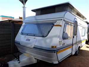 sprite super sport with full tent rally tent with sides and big fridge and freezer in excellent condition must be seen for R