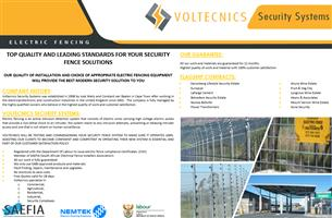 Electric Fencing - Voltecnics Security Systems