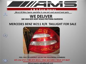 MERCEDES W211 TAILLIGHT