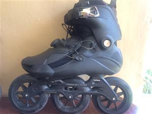 POWERSLIDE V. VANTA BLACK 125 TRINITY Inline Skates