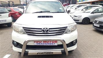 2013 Toyota Fortuner 3.0D 4D 4x4