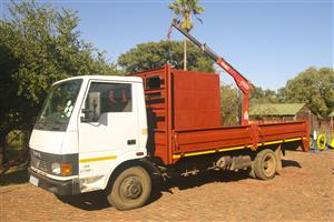 Tata LPT 713S 5-Ton Truck with 1-ton Cane & removable Canopy