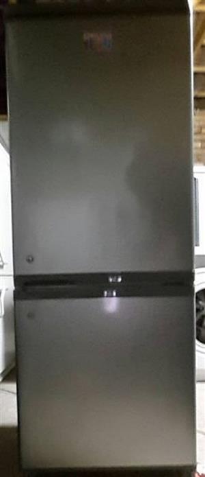 LG Fridge/ Freezer silver (dented)
