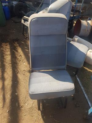 Various bus seats for sale