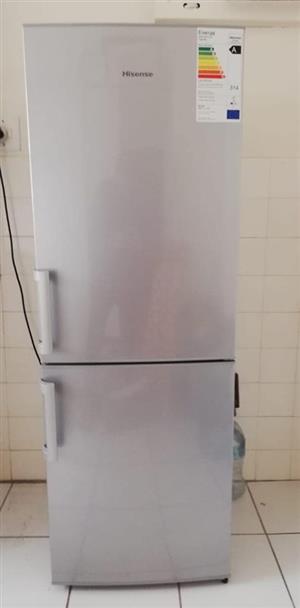 Hisense 230L fridge freezer for sale.