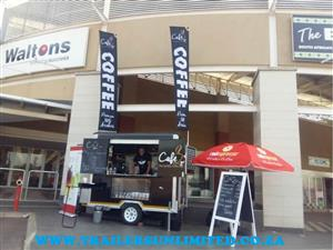 CAFE TO GO... COFFEE TRAILER BY TRAILERS UNLIMITED.