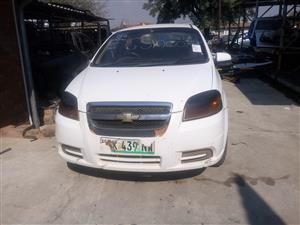 Chev aveo stripping for spare parts