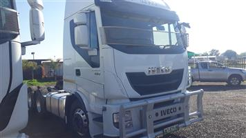 Iveco 430 Straulis Double diff truck,There are two available