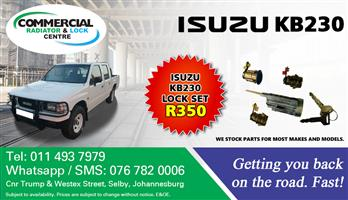 ISUZU KB230 LOCK SETS