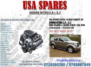 DODGE NITRO 2.8 – 3.7 USED ENGINES AND ENGINE SPARES