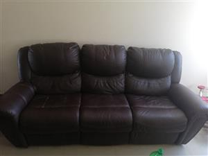 Upper Leather couches