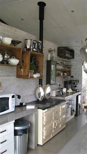 Anthracite and wood stove repairs