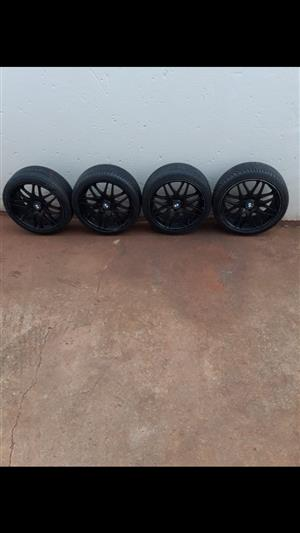 18 inch Tyres and rims for sale