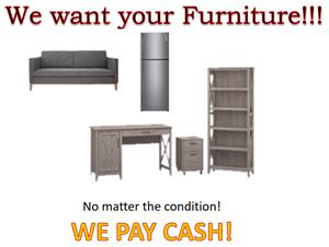Furniture - we want it!