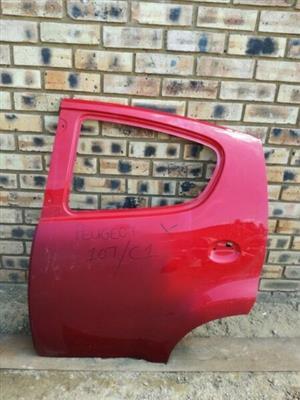 Peugeot 107 Left Rear Door  Contact for Price
