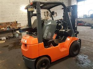 Toyota Forklift 7Series 1.8 ton duel