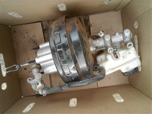 Nissan navara brake booster with master cylinder
