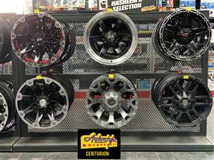 Bakkie Mags, Rims, Alloy Wheels and tyres