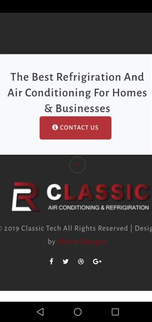 Classic Refrigeration & Air conditioning Services Hvac