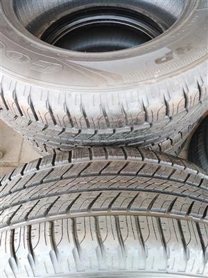 265/65/17 Goodyear wrangler hp tyres