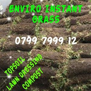 TOP QUALITY ROLL-ON GRASS, LAWN, TURF + TOP SOIL, COMPOST & LAWN DRESSING CONTACT : 0799 7999 12