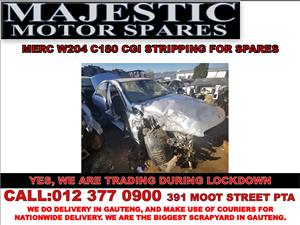 Mercedes benz c180 cgi stripping for used spares