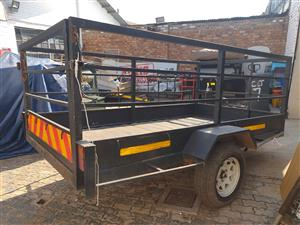 Heavy duty Trailer with rails