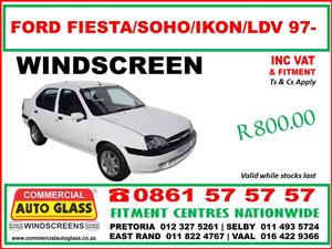 Windscreens-Door/Vent/Quarter Glass - Rear windscreens & Taxi frames
