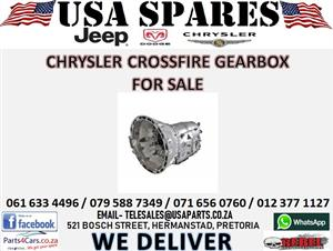 CHRYSLER CROSSFIRE GEARBOX