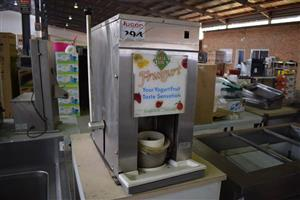 Fruit yoghurt machine for sale