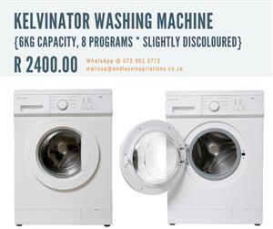 KELVINATOR WASHING MACHINE FOR SALE