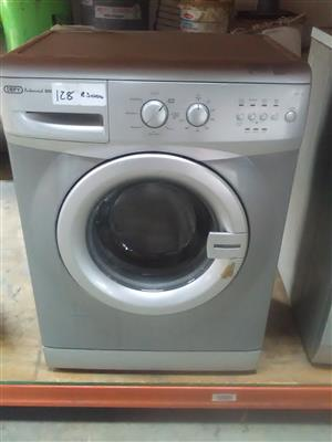 Defy Silver FrontLoader Washing Machine 6Kg