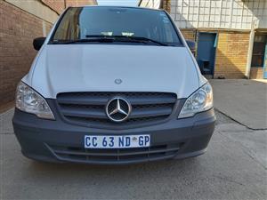 2012 Mercedes Benz Vito 116 CDI crewbus