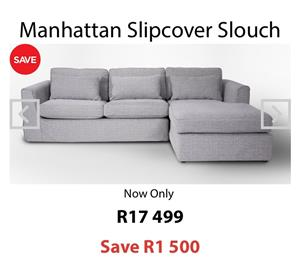 Coricroft Manhattan couch for sale, mint condition R9900. Currently selling in store for R17000