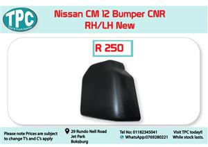 Nissan CM 12 RH/LH Bumper CNR New for Sale at TPC