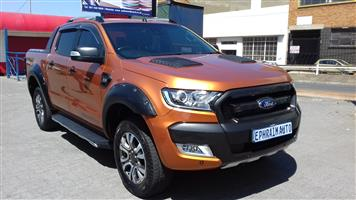 2016 Ford Ranger 3.2 double cab Hi Rider Wildtrak