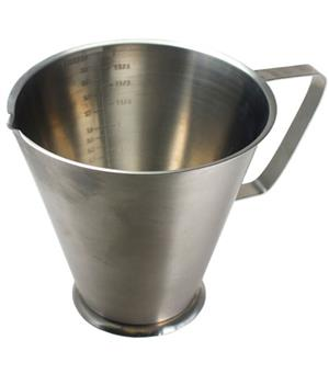 2 Liter Stainless Steel Measuring Jug