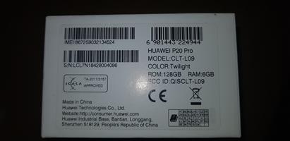 Brand New - Huawei Pro20 Pro Cellphone