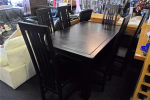 Wooden 6 Seater Dining Room Table
