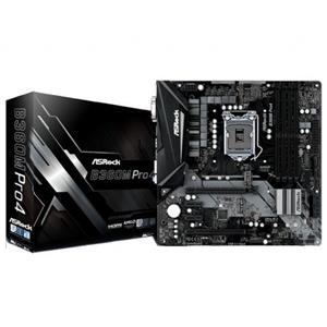 ASRock B360M Pro4 Intel B360 Coffee Lake LGA1151 Micro-ATX Desktop Motherboard