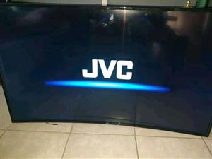 BRAND NEW JVC UHD  49INCHES CURVED ANDROID TV