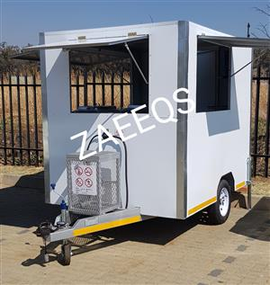 Food Trailers ...More Space! 2.4Lx 1.8W Fully Equipped!