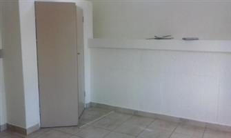 Edenvale Central open plan bachelor flat on Van Riebeeck Rental R3450 bathroom, kitchen and lounge