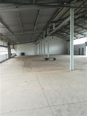 1000m2 warehouse to let in Heriotdale